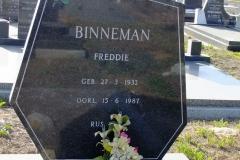 Binneman, Freddie