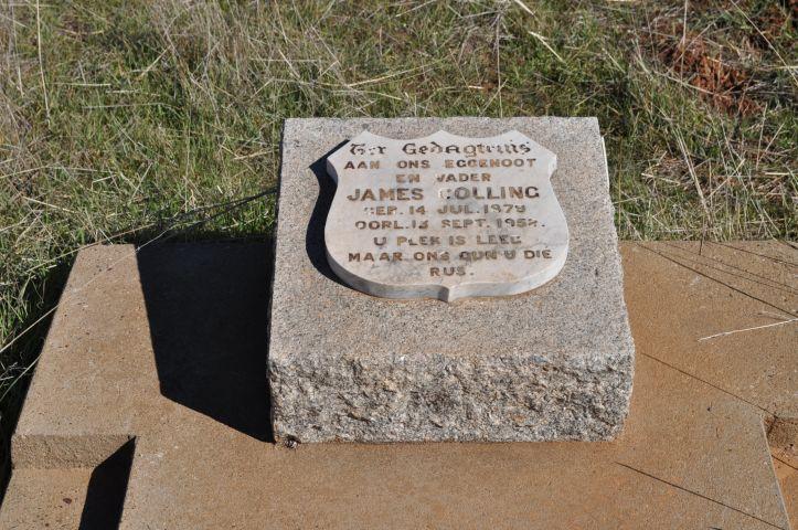 Colling, James born 14 July 1879 died 13 September 1958