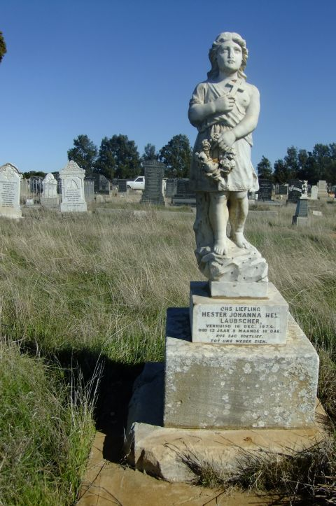 Laubscher, Hester Johanna Nel died 16 December 1934 aged 13 years 9 months + 18 days
