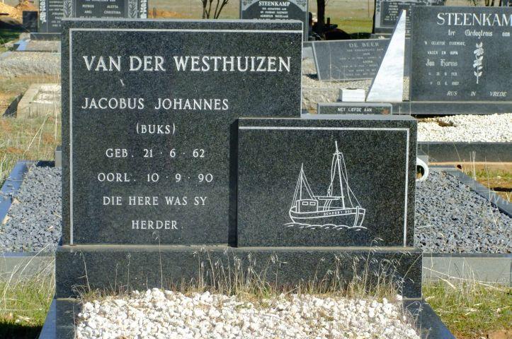 Van der Westhuizen, Jacobus Johannes Buks born 21 June 1962 died 10 September 1990