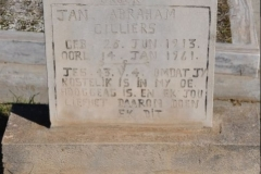 Cilliers, Jan Abraham born 25 January 1913 died 14 January 1961