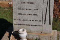 Conradie, Anna MFM nee Mocke born 22 March 1939 died 30 June 1968