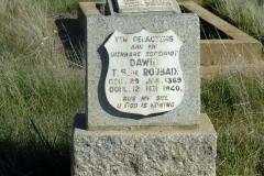 De Roubaix, Dawid TS born 29 January 1869 died 12 May 1940