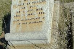 De Villiers, Helena nee Louw born 31 August 1890 died 15 April 1938