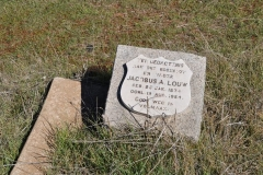 Louw, Jacobus A born 29 January 1874 died 12 August 1954
