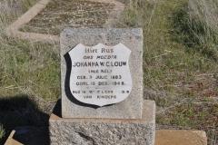 Louw, Johanna WC nee Nel born 03 July 1883 died 15 December 1948