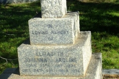 McGregor, Elizabeth Johanna Caroline born 24 June 1878 died 24 September 1974