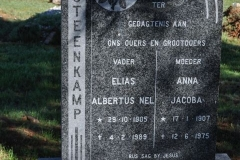 Steenkamp, Albertus Nel born 29 October 1905 died 04 February 1989 + Anna Jacoba born 17 January 1907 died 12 June 1975