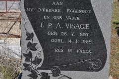 Visagie, TPA born 26 July 1897 died 14 January 1965