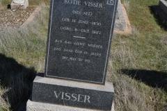 Visser, Kotie nee Nel born 15 June 1870 died 08 October 1957