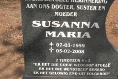 Scheepers, Susanna Maria
