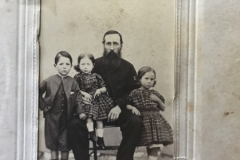 Unknown man wtich children