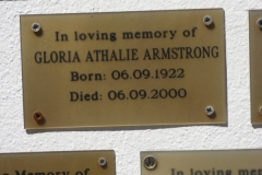 Armstrong, Gloria Athalie