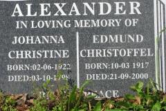Alexander, Johanna Christine
