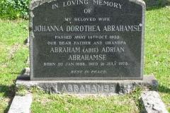 Abrahamse, Johanna Dorothea