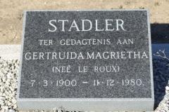 Stadler, Gertruida Magrietha