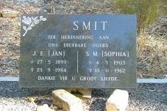 Smit, J. E. & Smit, S. M.