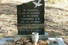 Smit, Catharina S. M. gebore Van der Merwe