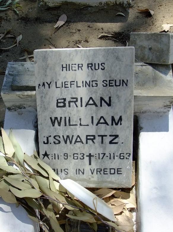 Swartz, Brian William J
