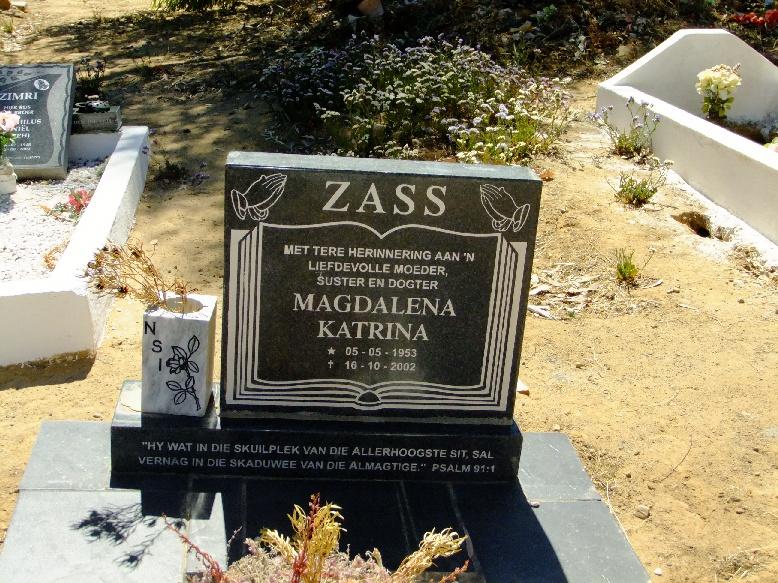 Zass, Magdalena Katrina