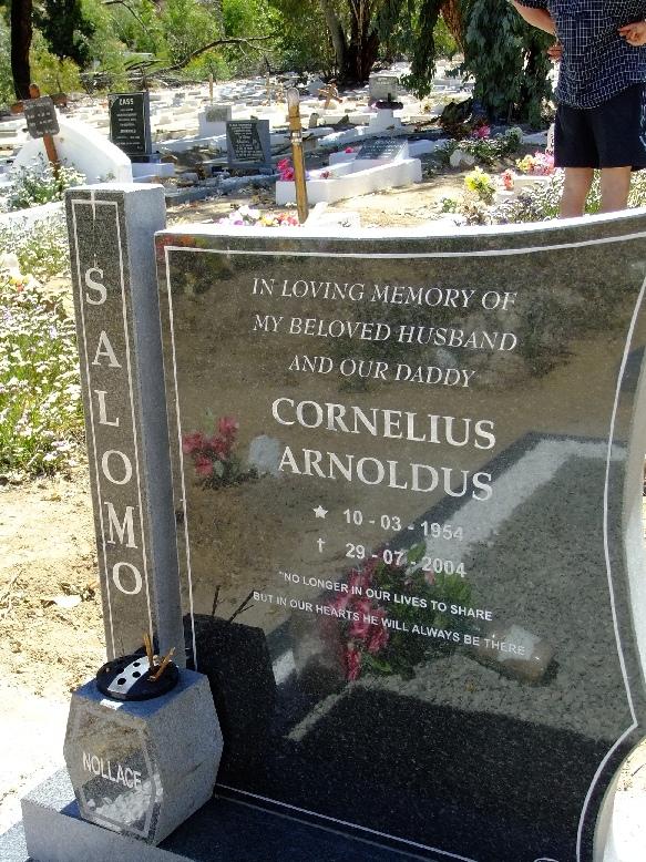 Salomo, Cornelius Arnoldus