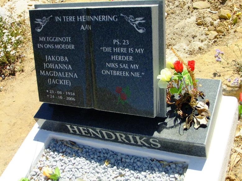Hendriks, Jakoba Johanna Magdalena