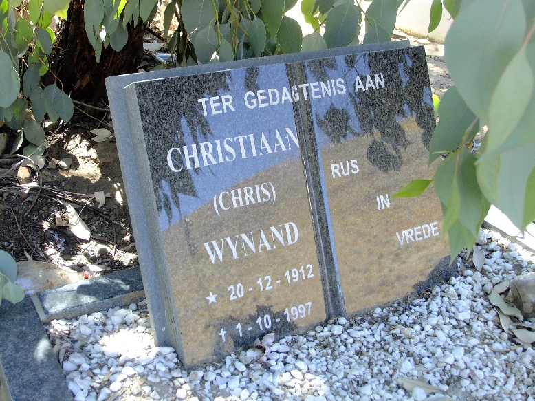 Wynand, Christiaan