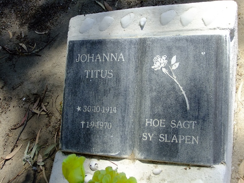 Titus, Johanna