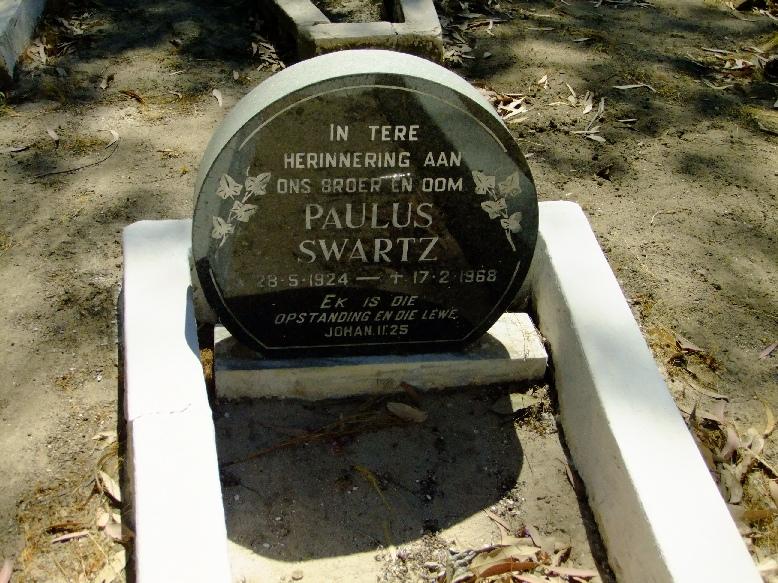 Swartz, Paulus