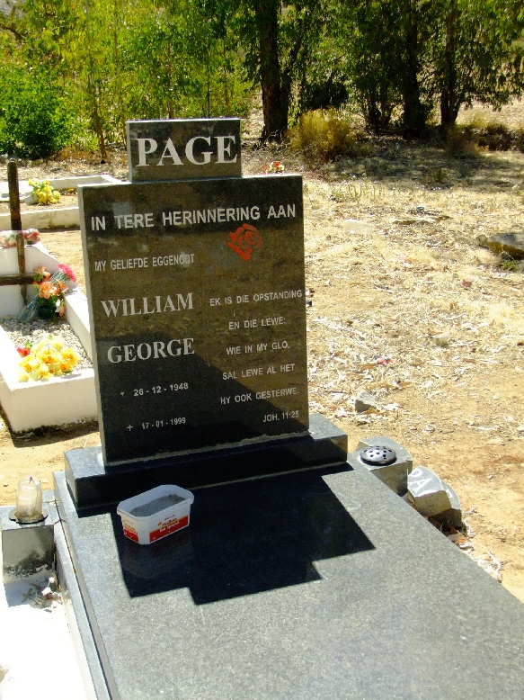 Page, William George