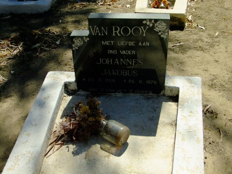 Van Rooy, Johannes Jakobus