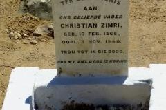 Zimri, Christian