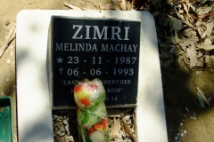 Zimri, Melinda Machay