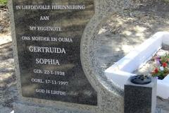 Ockhuis, Gertruida Sophia