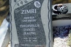 Zimri, Theophilus Daniel