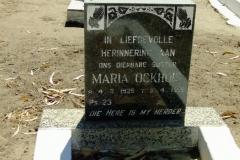 Ockhuis, Maria