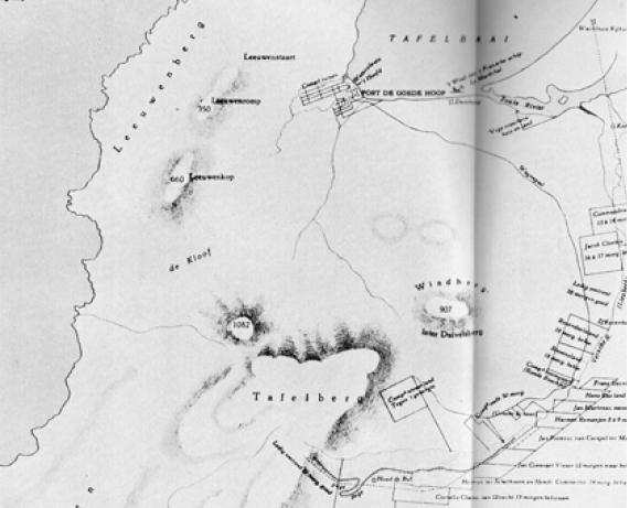 settlement at rondebbosch