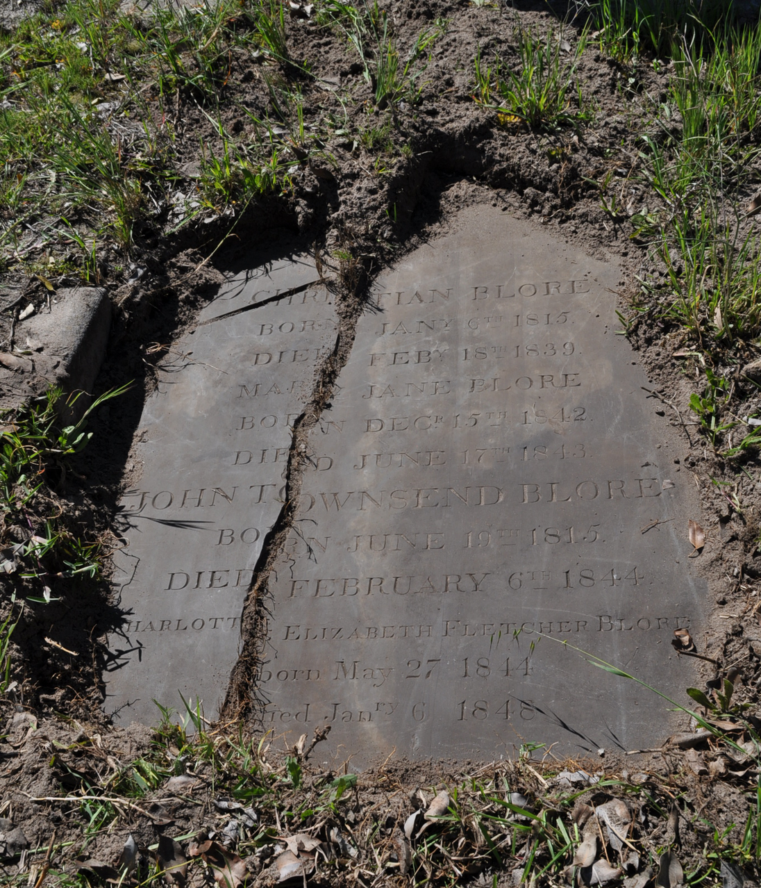 Somerset Road Cemetery Lost Inscriptions