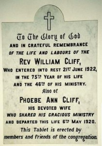 WILLIAM CLIFF