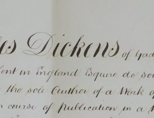 Charles Dickens sues Cape Newspaper