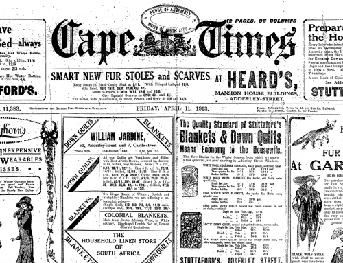 South African Newspaper Research