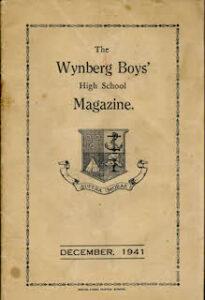 Wynberg Boys Magazine