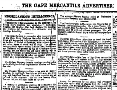 1867 Cape Town Directory
